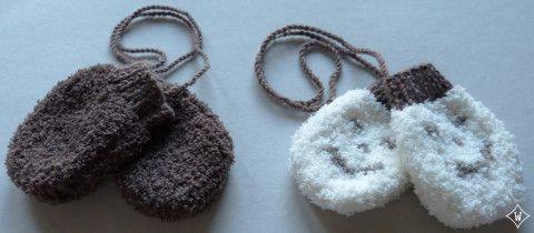 Tutoriel tricot moufles bébé | http://10doigtsdelooloup.wordpress.com