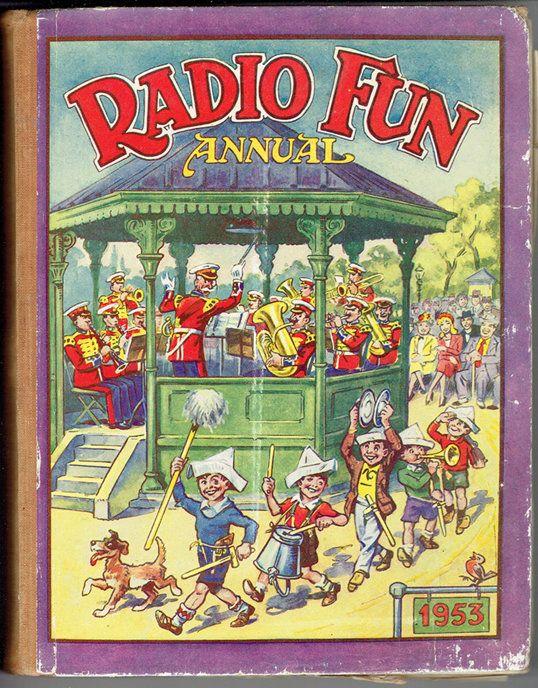 VINTAGE TREASURE - Radio Fun Annual 1953
