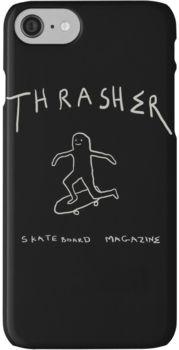 THRASHER skateboard mag iPhone 7 Cases