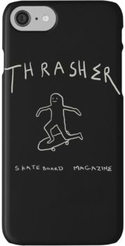 THRASHER skateboard mag iPhone 7 Cases