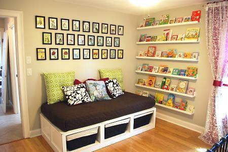 Ledges for kids books