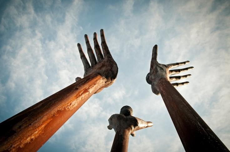 Art public Trois-Rivières  Crédit photo : Étienne Boisvert #art #sculpture