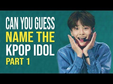 CAN YOU GUESS NAME THE KPOP IDOL ? || KPOP GAME - YouTube