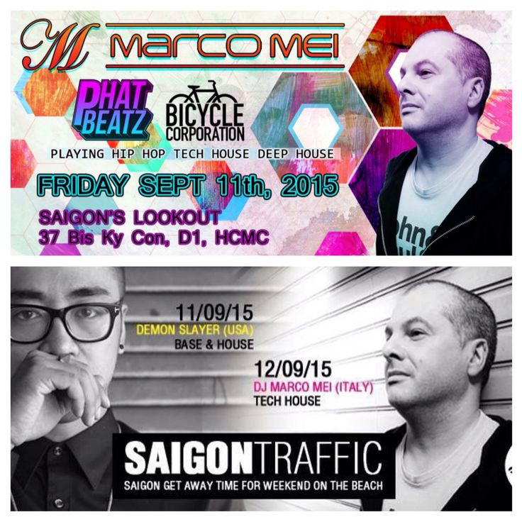 Weekend's gigs #Saigon #Muine #Vietnam