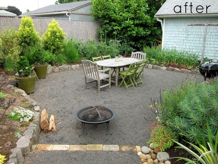 Crushed Gravel Landscaping : Best gravel patio ideas images on pinterest