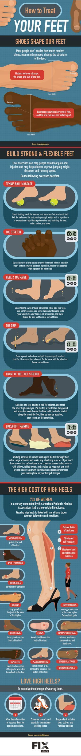Avoid Foot Pain With Proper Footwear | http://Fix.com