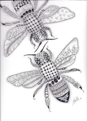 Napoleonic bees - a symbol of immortality and resurrection dating back to