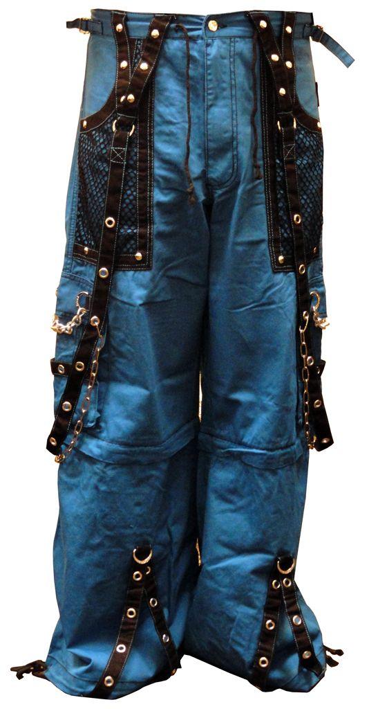 "Tripp Blue NYC ""Arctic Nightmare"" Bondage Pants (Blue)<!-- Click to Enlarge-->"