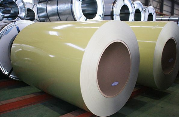 Color Aluminum Coil In Zhongxin Factory