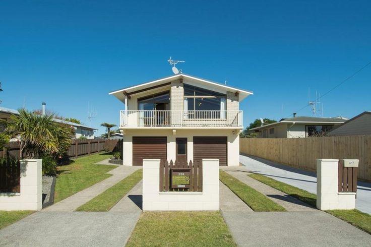 1970s house exterior - Papamoa NZ