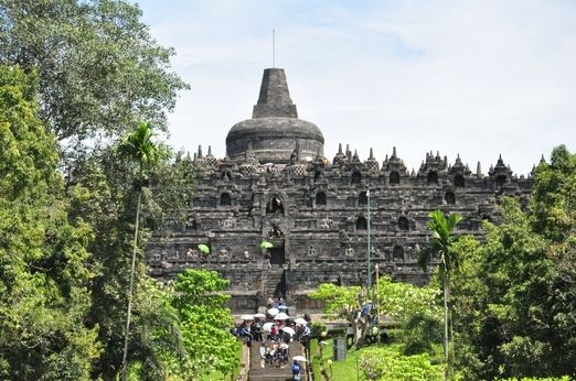 "Not to be missed: ""Borobudur is definitely not to be missed. It's a real gem and an impressive monumental temple,"" sai..."