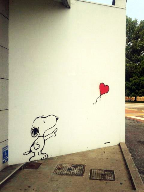 Kenny Random en Padua, Italia. #Snoopy