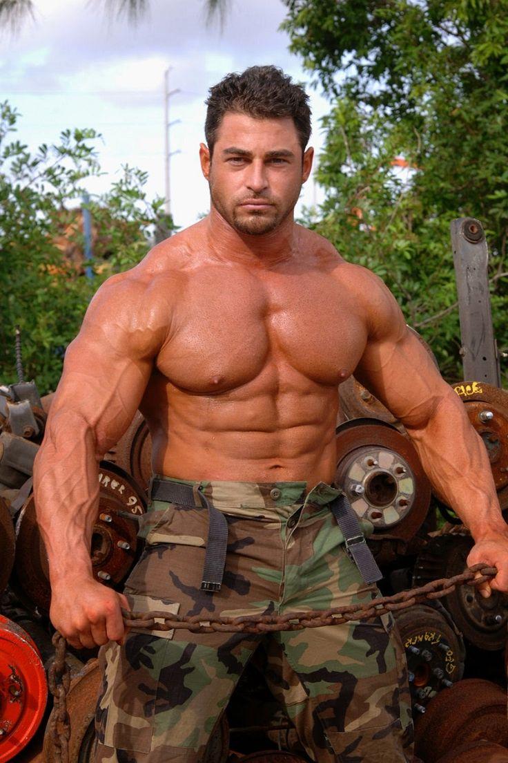 alvisi military guys men in uniform muscle men big guys joeysilverado