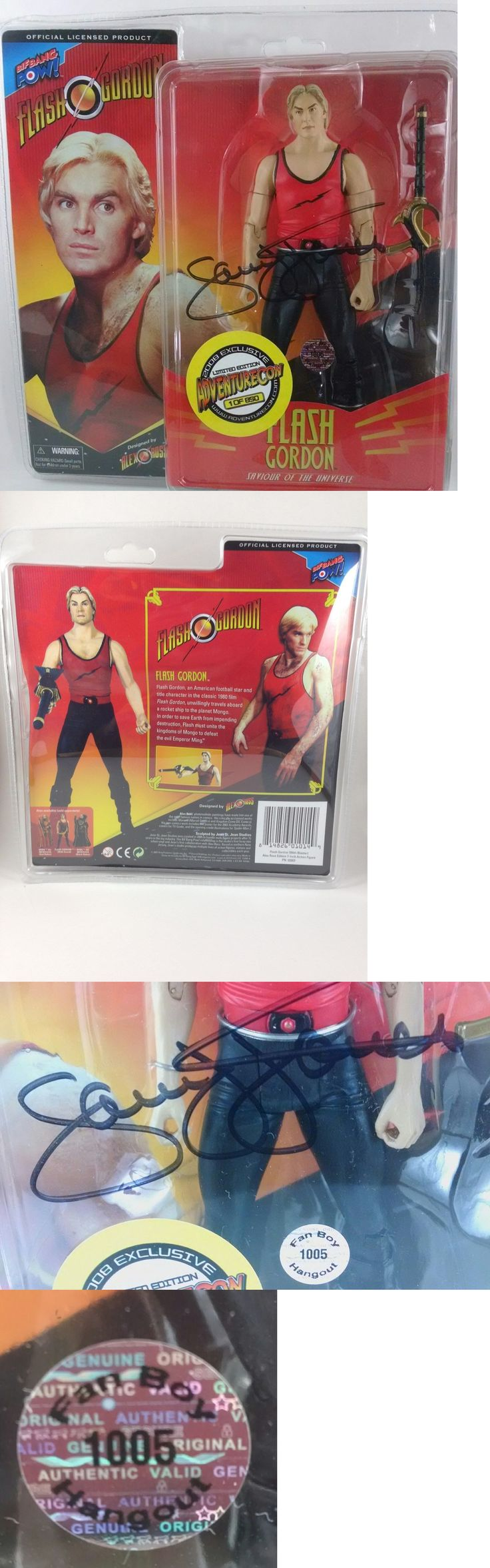 Lead Toys and Figures 152938: Flash Gordon 2008 Bif Bangpow Rare Action Figure *Autographed* By Sam J. Jones -> BUY IT NOW ONLY: $57 on eBay!