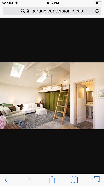 9 best Garage Conversion images on Pinterest   Basement bedrooms ...