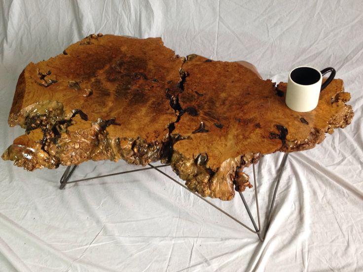 Live Edge Coffee Table - Live Edge Table - Wood Slab Table - Live Edge Slab - Wood Slab Coffee Table - Wood Coffee Table - Maple Burls (17) by UrbanWoodLLC on Etsy https://www.etsy.com/listing/262233631/live-edge-coffee-table-live-edge-table