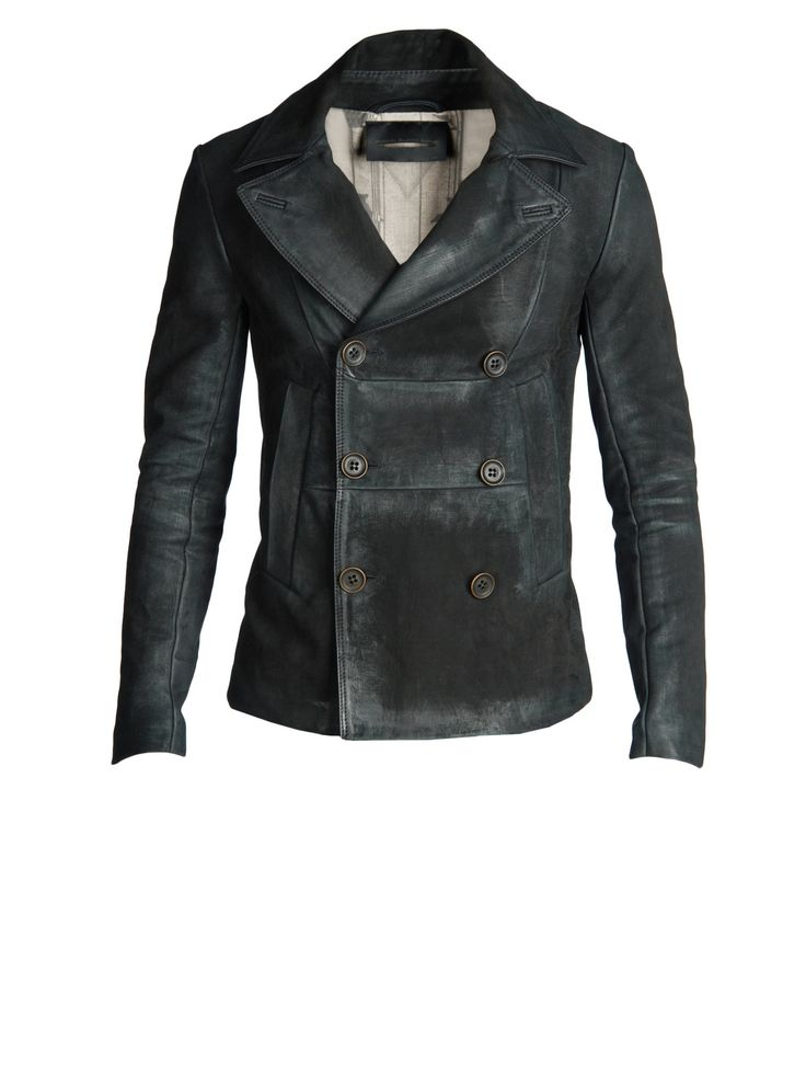 There are not many leather jackets I'd recommend for the more mature man, but I make an exception for Diesel's Black Gold label Licaban jacket. Just be thoughtful about what you match it up with though. A little goes a long way...