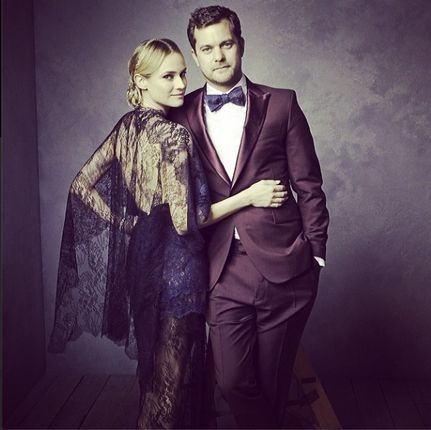 Diane Kruger and Joshua Jackson - Mark Seliger's Portrait Studio at the Vanity Fair 2014 Oscar Party -repinned by California portrait photographer http://LinneaLenkus.com #portraitphotographer