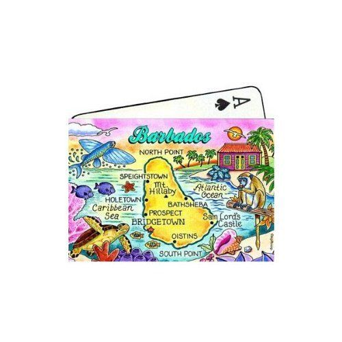 Enjoy memories of Barbados while you play cards, with a pack of these souvenir playing cards!