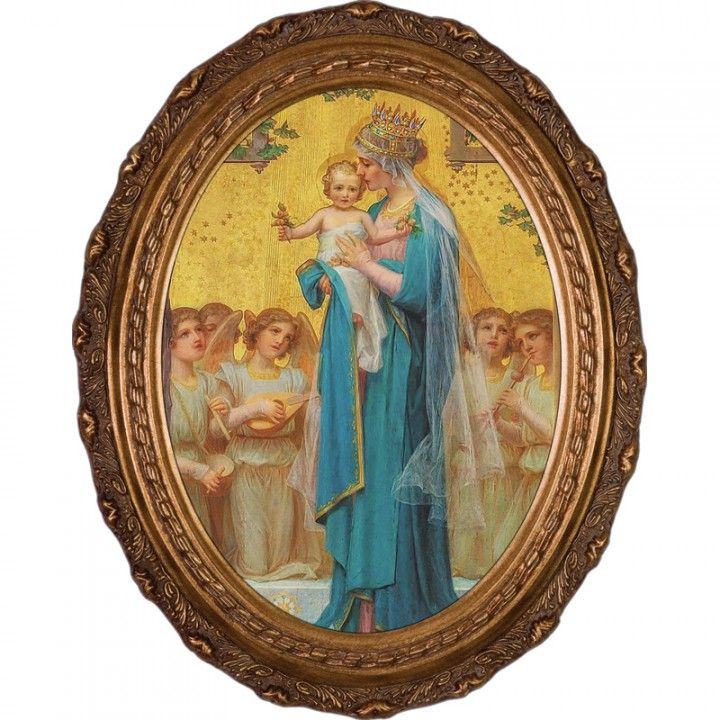 Crowned Madonna Picture