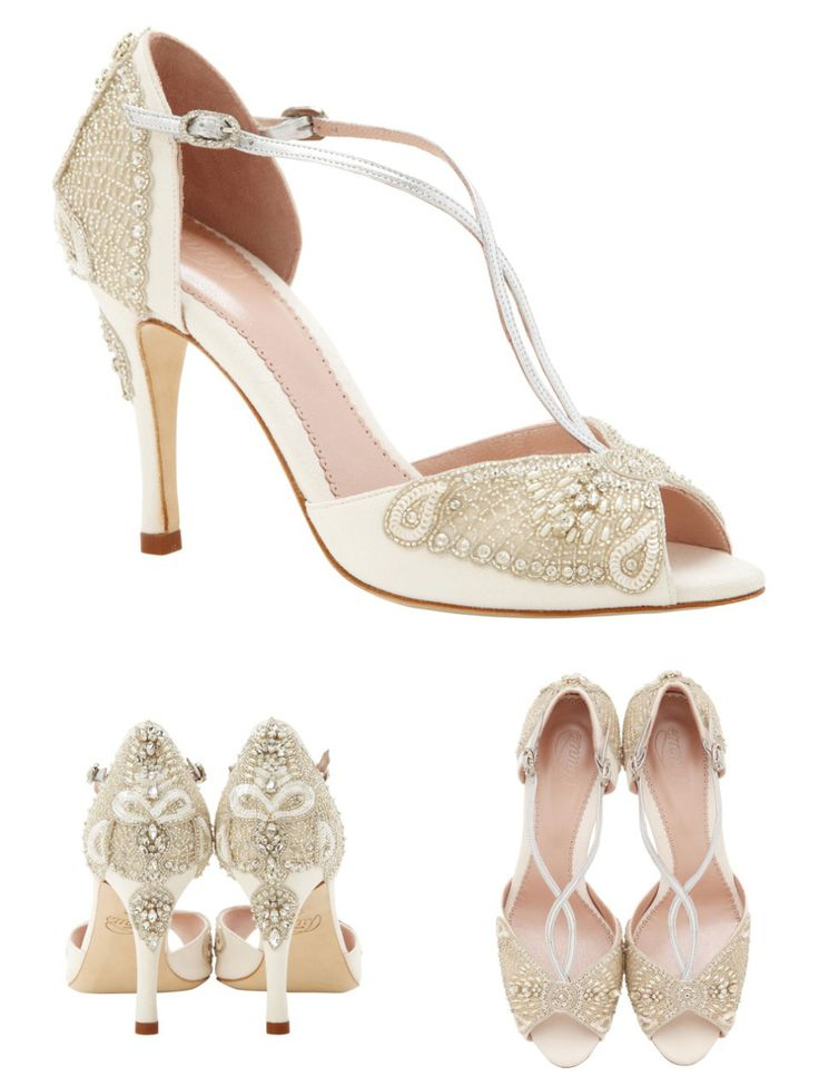 Emmy London 'Aurelia' Collection - Elegant Wedding Shoes Inspired By Sea Mythology | Love My Dress® UK Wedding Blog