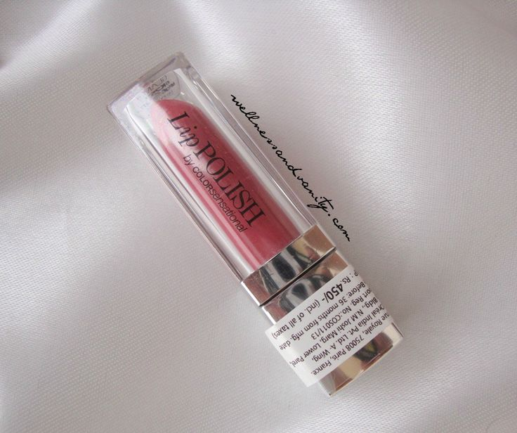 Maybelline Lip Polish Glam 9 Review | WELLNESS&VANITY