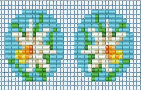 Схемы: Брошь-кулон и серьги(кольцо) Нарциссы (Остапа понесло дубль два)
