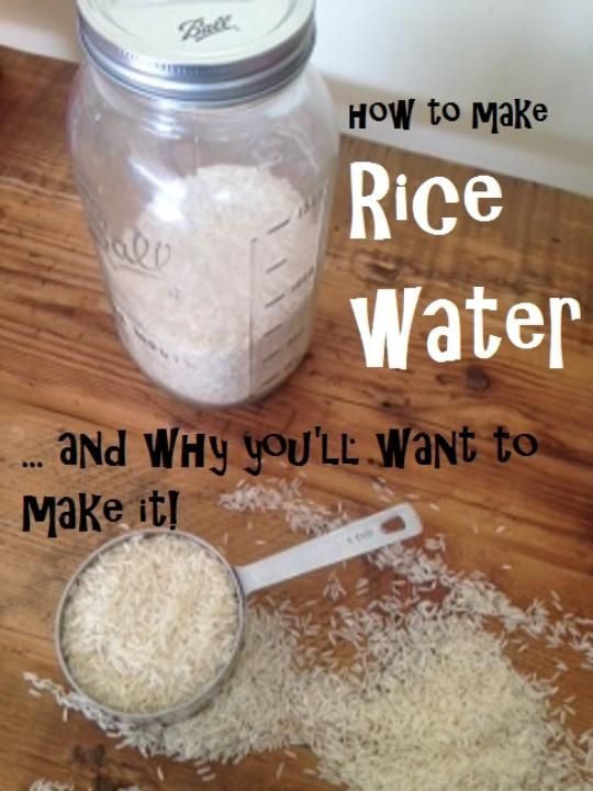 How to make rice water (and why preppers will want to make it): http://www.happypreppers.com/ricewater.html