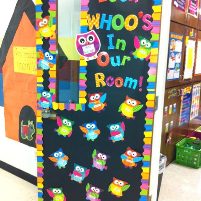Classroom Decor 4th Grade ~ Best owl classroom door ideas that you will like on