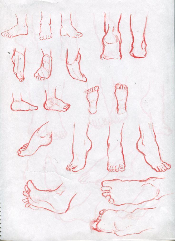 foot drawing croquis /2014.12