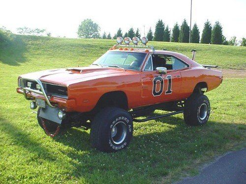 1969 Dodge Charger 4X4 General Lee...the true redneck version....