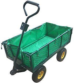 Homra Gartenkarre - Perfekte Handkarre,Transportwagen, Gartenwagen oder Gartentrolley