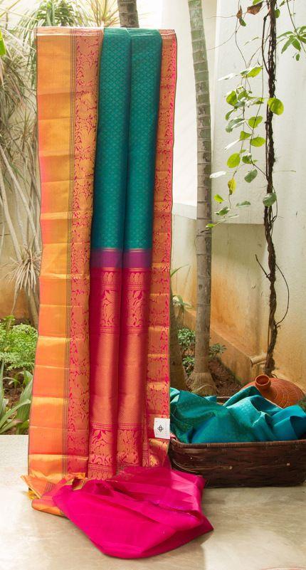 Kanchivaram Silk L03752 | Lakshmi
