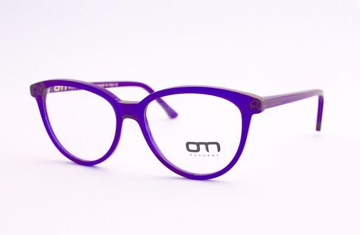 Glasses Occhiali da Vista Vintage-K.Cross Violet from OM eyewear by DaWanda.com
