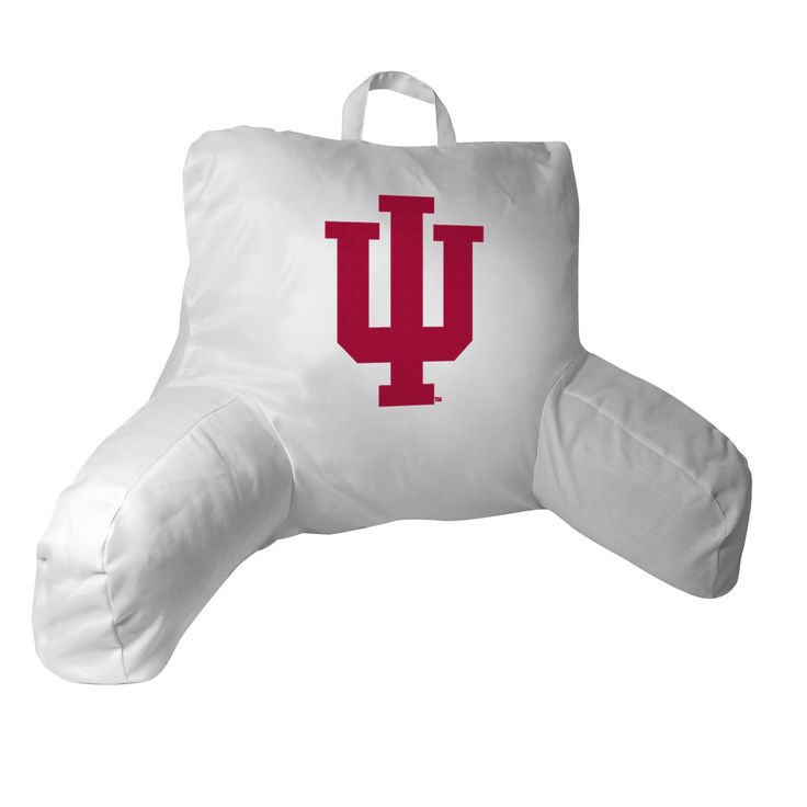 Indiana Collegiate 20.5x21 Bed Rest Pillow