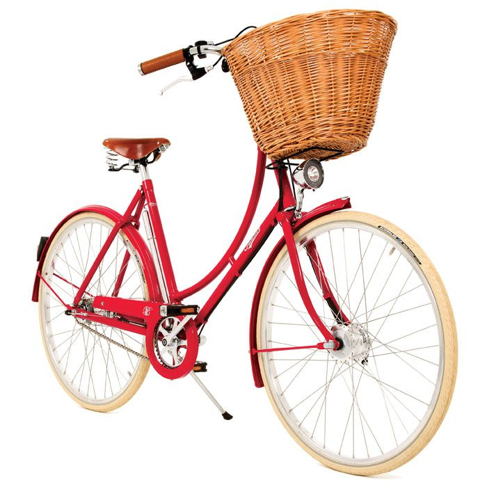 Cute bicycles #pashley #bicycle #red  £625