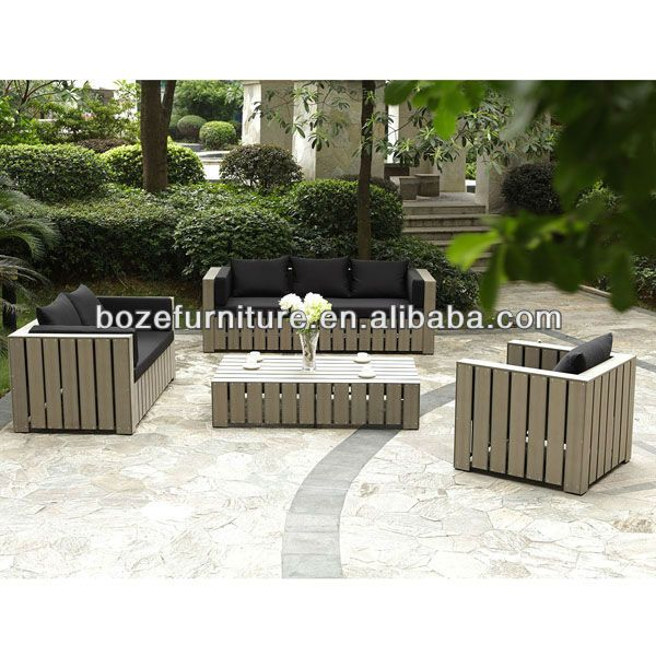 Outdoor Polywood Sofa Set plastic Wood Outdoor Furniture Sofa Set   Buy  Plastic Wood Sofa Set Polywood Sofa Garden Furniture Product on Alibaba com. Best 25  Plastic garden furniture ideas on Pinterest   Paint