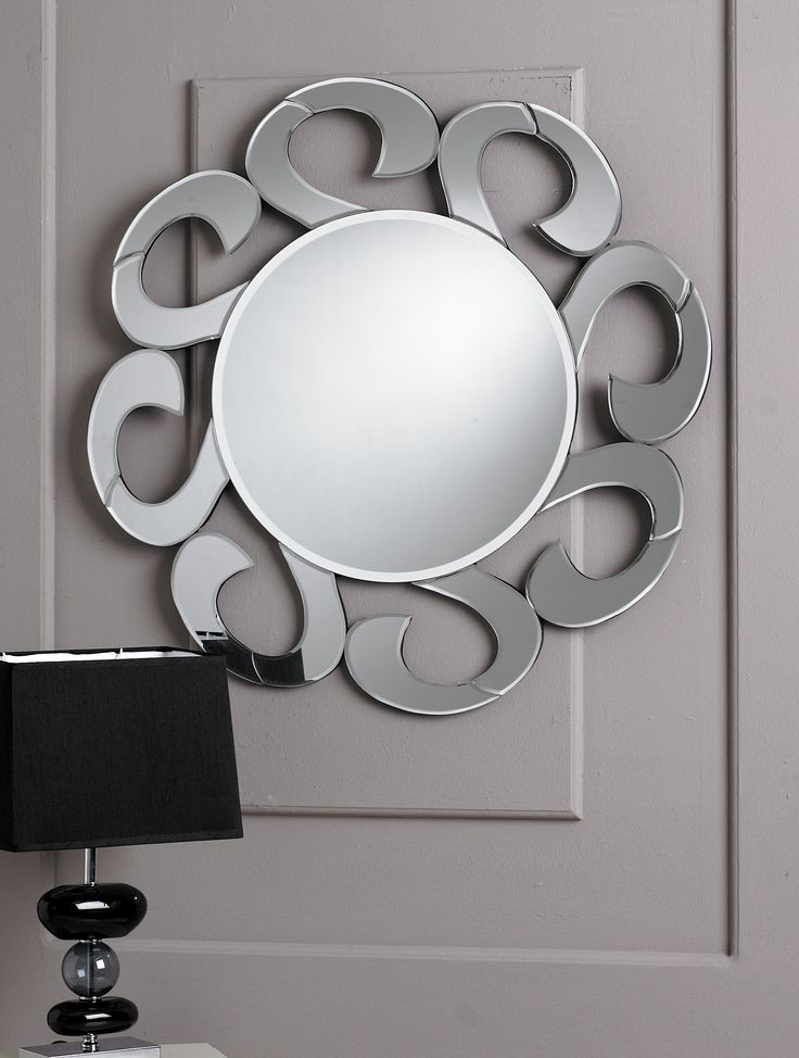 This unique Wave Mirror is a stylish and sleek look to your home. The Mirror has a stunning design which could suite any decor, while the mirror it's self is a state-of-the-art style which could be a key piece.