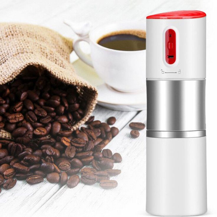 Mini Automatic Coffee Machine Chargeable Stainless Steel Insulated Coffee Maker