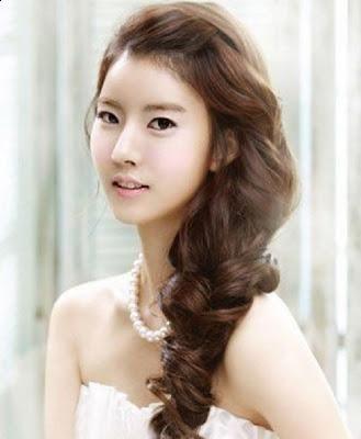 Korean Bridal Wedding Hairstyle  Korean Hairstyle Trend