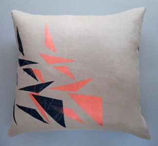 Trigon Throw Pillow /  NightByrd