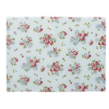 Cath Kidston - Daisy Rose Glass Worktop Saver