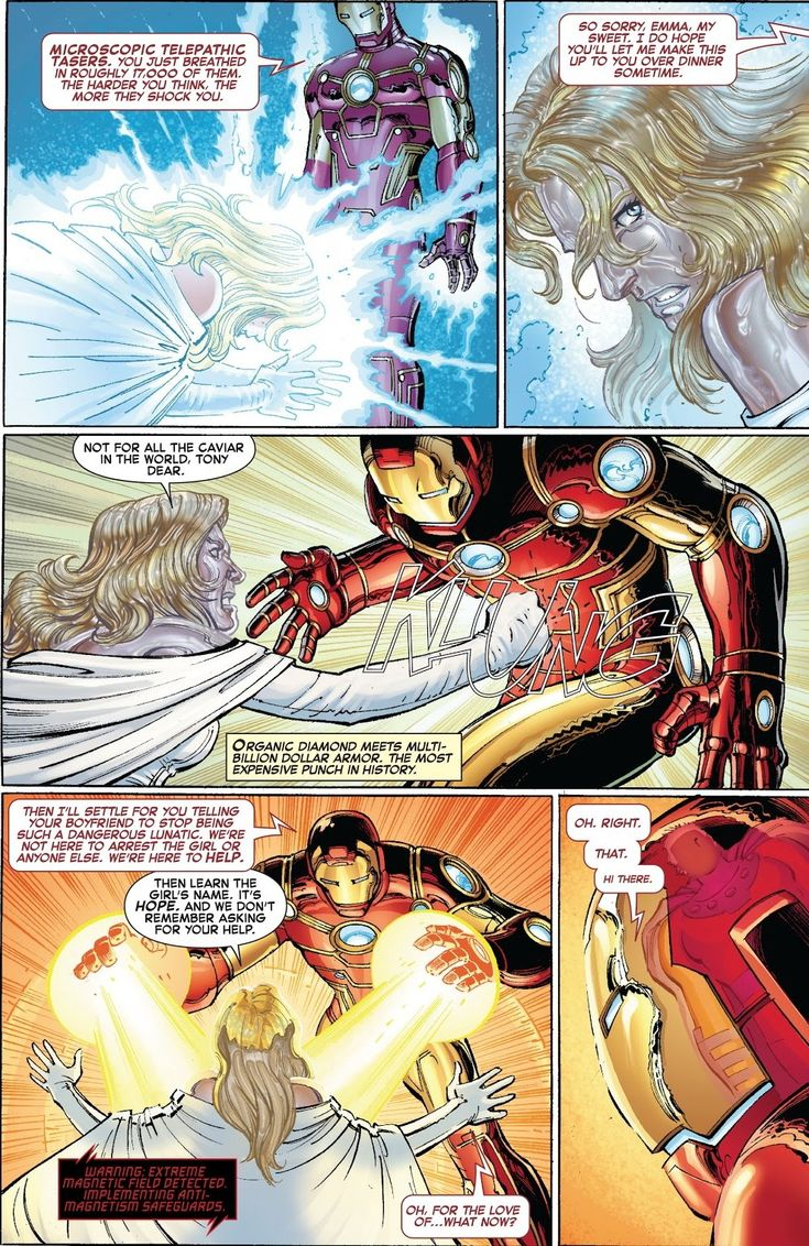 Iron Man's Tech Telepathic Defenses, and
