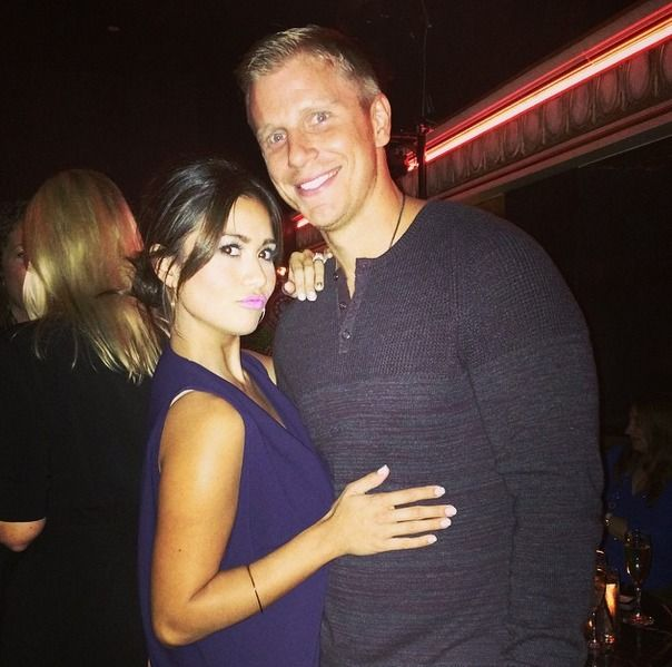Sean and Catherine Lowe Have a Death-Defying Date! (PHOTOS) Gulp. Just even thinking about jumping out of a plane makes our knees shake, but daredevils Sean and Catherine Lowe managed to make that leap this past weekend and, according to Sean, only one of them soiled themselves in the process.