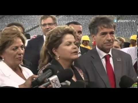 Brésil : Silma Rousseff tape dans le ballon