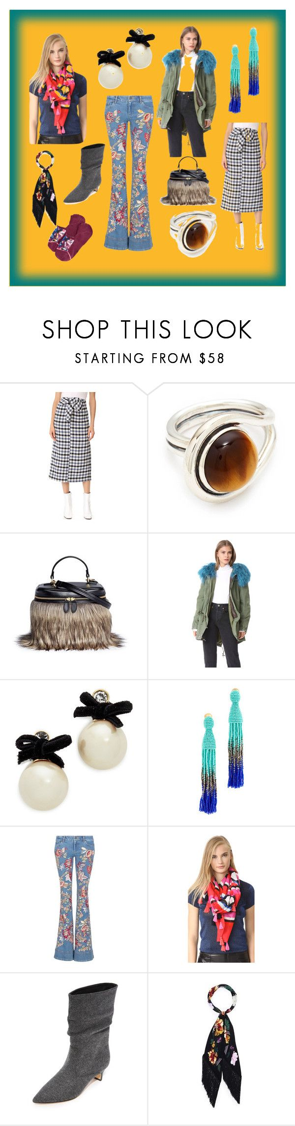 """The Fashion Life"" by cate-jennifer ❤ liked on Polyvore featuring TIBI, Pamela Love, Vasic, Mr & Mrs Italy, Kate Spade, Oscar de la Renta, Alice + Olivia, Sigerson Morrison, Rockins and Stance"
