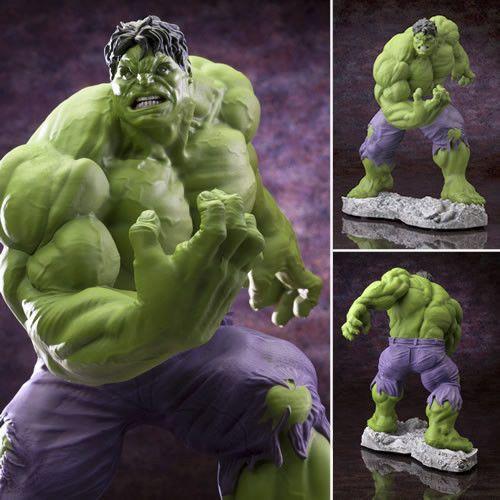 Marvel Fine Art Statue - Hulk Classics Avengers Version