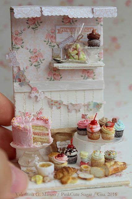 Valentina Gaia Manzo - PinkCute Sugar Miniatures: ➽1/12 scale miniature