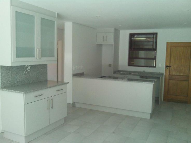 Open plan kitchen windsor grey alpine wood