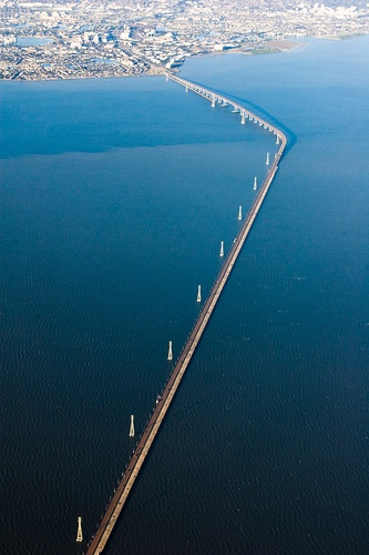 The San Mateo-Hayward Bridge is OPEN in both directions and will remain open through October, following Caltrans' successful completion of repairs. The previously-scheduled October 26-29 closure has been canceled. Drivers will not experience any differences on the bridge after it reopens.